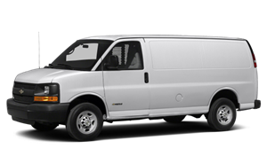 Chevy Express Cargo Van Features