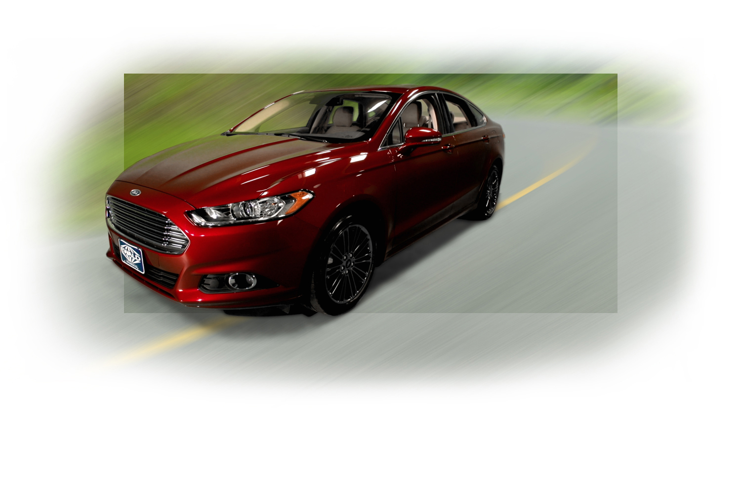 2015 Ford Fusion front view