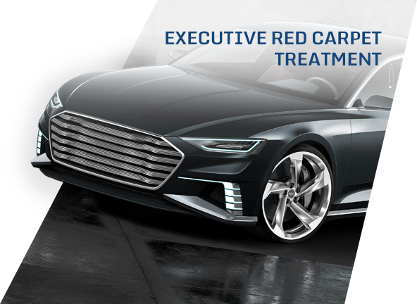 Executive fleets with red carpet service