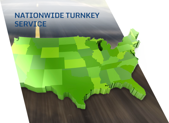 Nationwide turnkey fleet services