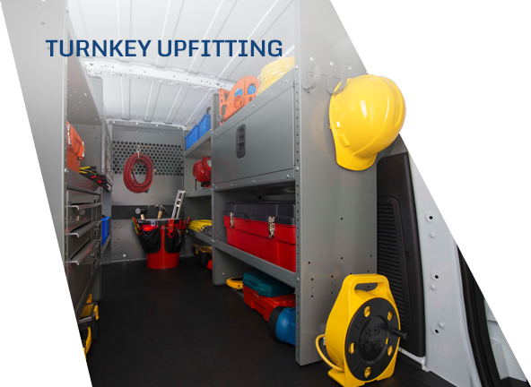 Turnkey upfitting for fleet needs